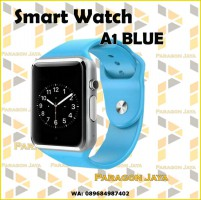 SMART WATCH A1 / SMARTWATCH U10 Blue Biru SIMCARD MICRO MEMORY CARD