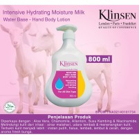 Klinsen Lotion Intensive Hydrating Moisture Milk 800 ml