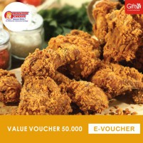 Brooaster Chicken Value Rp. 50,000
