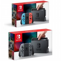 Konsol Nintendo Switch - Gray / Neon