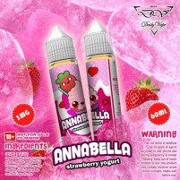 Premium Liquid Annabella Strawberry Yogurt 60ML 3MG