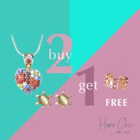 [BUY 2 GET 1 FREE] HanaChic Love Motion Necklace