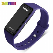 SKMEI Wristband Jam Gelang LED - 1265A - Dark Blue