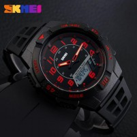 SKMEI Casio Men Sport LED Watch Water Resistant 50m -Jam Tangan Pria
