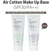 The Face Shop Air Cotton Make Up Base SPF30/PA++ mint lavender