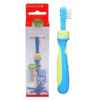 PIGEON BABY TRAINING TOOTHBRUSH/ SIKAT GIGI BAYI LESSON 3 (12M+)