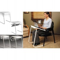 (Promo Gajian) Table Mate II Meja Laptop Lipat Portable Laptop - White