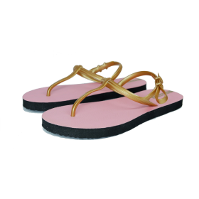 Sandal Casual / Sandal Sun Swallow Strappy Travel in Pink Rose Gold