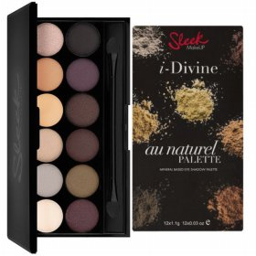 FREE ONGKIR SLEEK I-DIVINE EYE SHADOW PALETTE WITH 14 SHADING OPTION COLORS
