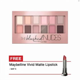 Maybelline The Blushed Nudes Eyeshadow Palette Promo