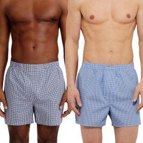 Branded | Gingham Boxer 2 Colors | MENS CHECKED KNEE LENGTH CASUAL SHORTS | Celana Pendek Pria