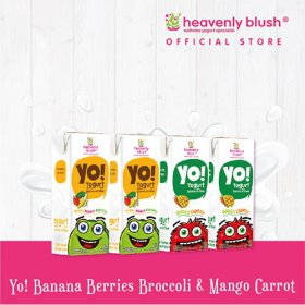 Heavenly Blush yogurt Yo!  4Pcs All Variant