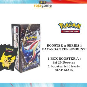 Pokemon TCG Booster Box 3A - Original (20 Booster isi 120 Kartu) as3a