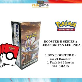 Pokemon TCG Booster Box 2B - Original (20 Booster isi 120 Kartu) as2b