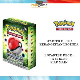 TERMURAH!! Pokemon TCG Indonesia Series 2 Starter Deck