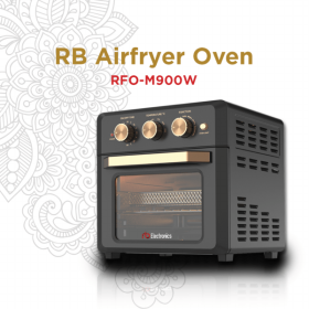 RB RFO-M900W Air Fryer Oven Multi Fungsi - Manual
