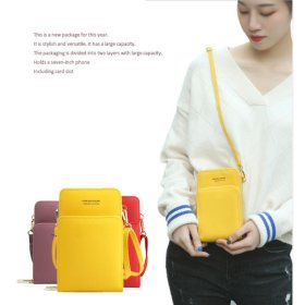 TS158 Tas Wanita Selempang Mini FY Double Layer Sling Bag