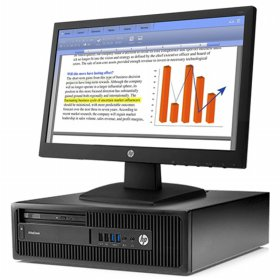 HP EliteDesk 705 G2 Small Form Factor PC - Free monitor, keyboad, mouse