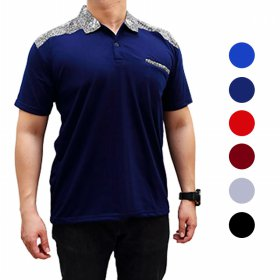 MODERN POLO BATIK FUSION ★ PREMIUM QUALITY COTTON SHIRT/M.L.XL/READY STOCK