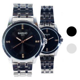 FIN 70/jam tangan couple/tali stainless steel