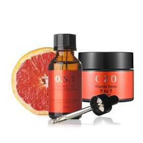 OST C 20 Serum Pure Vitamin C 30ml ORIGINAL / Vitamin Sleep 9 to 5 Crema 50 gr