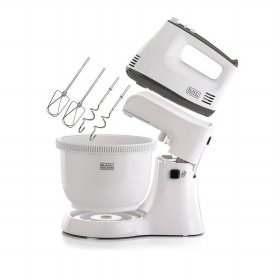 Black+Decker Hand Mixer 300W, with Bowl M700-B1