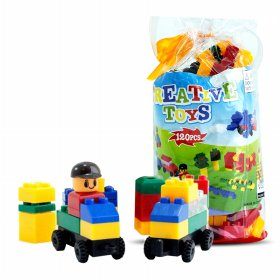 [Usia 3+] Blok Creative Toys 120 pcs - Edukasi Toys For Kids |Best Buy |Mainan Edukasi Anak