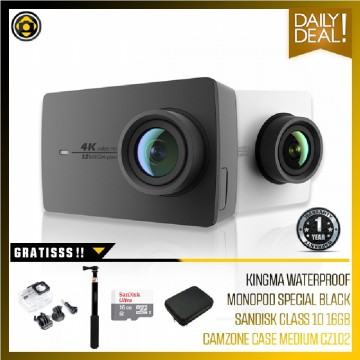 Xiaomi Yi Action Camera II 4K - International Vers - Closer Package