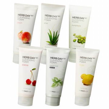 TheFaceShop Herb Day 365 Cleansing Foam