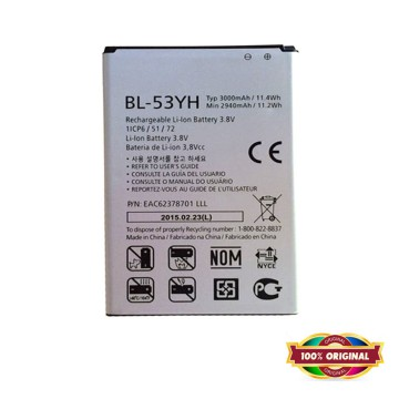 100% ORI - Battery for LG G3 / G3 Stylus - 3000mAh - Garansi 1 Bulan