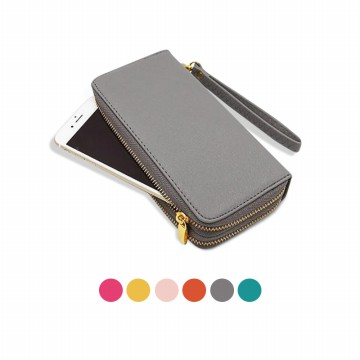 KOREAN STYLE ★ [#118-14] Double Layer Zipper Wallet/Dompet panjang/Dompet lipat/Dompet wanita