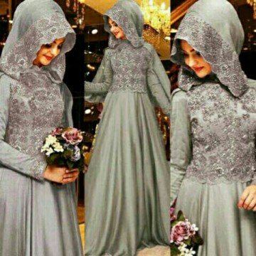 Gamis Glitter Glamour H1300176R
