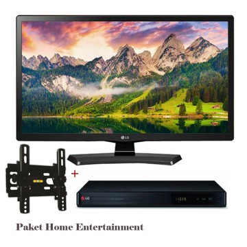 Paket Home Entertainment LG 29' LED 29MT48 AF+BRAKET+ LG DVD Player DP 540 JABODETABEK