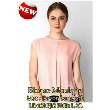 PAKET 6 PCS | TENABANG OFFICIAL | Blouse Monique - Rayon | Fit to L-XL | SW168G | PAKAIAN ATASAN WANITA TERBARU
