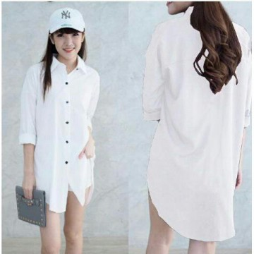 PAKET 6 PCS | TENABANG OFFICIAL | Long Hem Caren Bw - Wolly Crepe | Fit-XL-XXL -SW337G | PAKAIAN ATASAN WANITA TERBARU