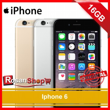 iPhone 6 16GB ( Gold , Grey , Silver ) Original 100% Garansi 1th