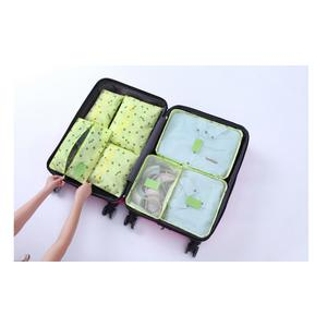 7 in 1 TRAVEL SEASON Tas Travel organizer 1 set isi 7pcs
