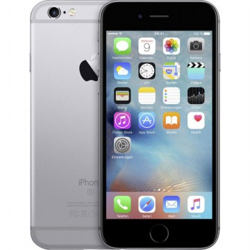 iPhone 6 Plus 64GB - SpaceGrey - Free Tempered Glass