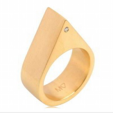 Cincin Korea Rock Chic Forever21 Trilateral Simple RA8A7F