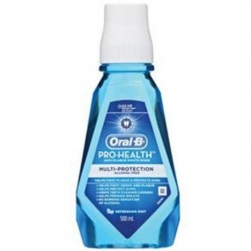 P&G Oral B Prohealth Multi Protection Refreshing Clean Mint Rinse 500ml