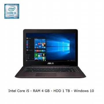 ASUS A456UR-GA090D Brown (i5-7200U/4GB/1TB/GT930MX-2GB/14'/Dos) Best for Design, Graphics & Game