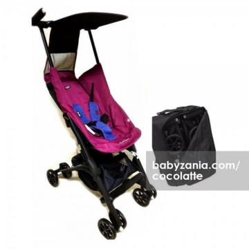 Cocolatte Pockit Stroller CL 789 - Purplish Red