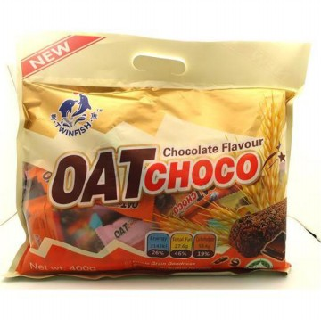 TwinFish Oat Choco Chocolate Twin fish Oat Coklat 400gram Import Malaysia