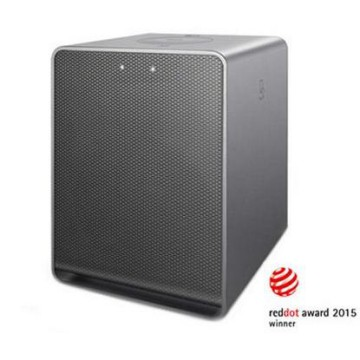 LG Wireless Speaker SMART HI-FI AUDIO MUSIC FLOW H3 NP8340 - RedDot Award Winner 2015 - Silver