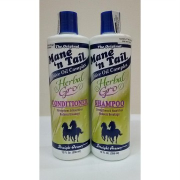 SHAMPOO & CONDITIONER MANE n TAIL HERBAL GRO 355ML