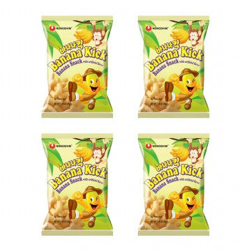 BANANAKICK SNACK 45GR x 4pcs