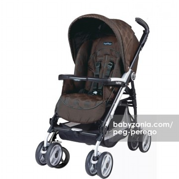 Peg Perego Stroller P3 Compact Classico - Pois Brown