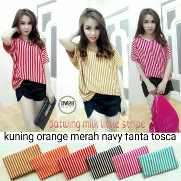 BATWING MILK LITTLE STRIPE SV000213R