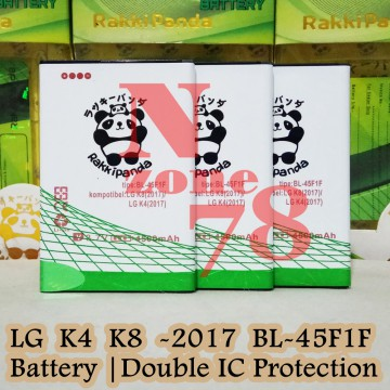 Baterai LG K4 2017 M160E BL45F1F Double IC Protection