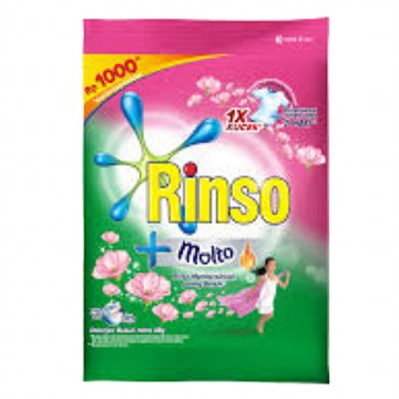 Rinso Molto Detergent - 46 gr (6 pcs)